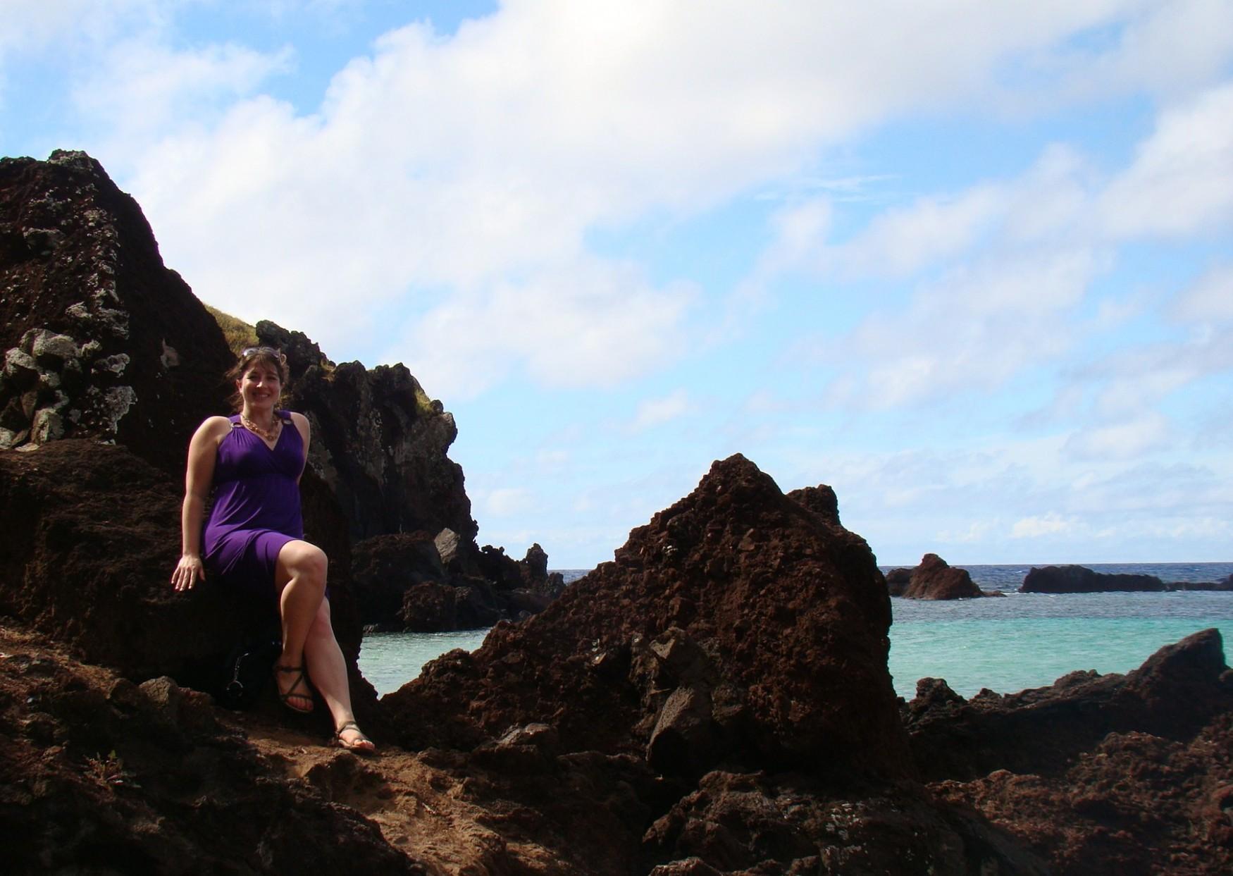 Climbing Ovaje Beach in Teva Zirra