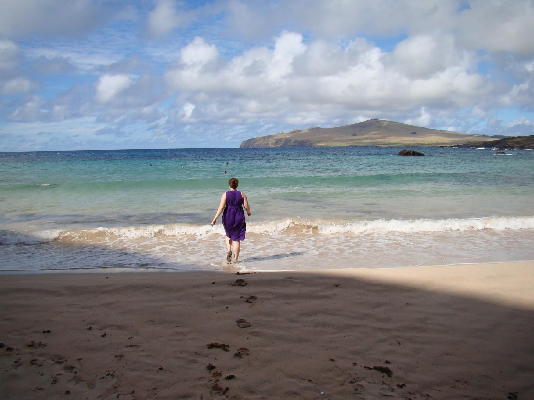 Ovaje Beach Easter Island Keri HeelsFirstTravel